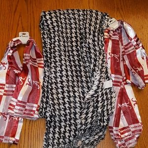 NWT 3 Alabama scarves bundle